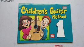 老乐谱  英文原版   MEL BAY' S  CHILDRES GUITAR METHOD  1    梅尔湾的 儿童的 吉他方法1
