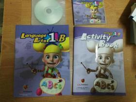 语言艺术= Language Arts. 1B(包括学生课本,练习册,2张CD,一张DVD 带原装塑料盒)英语课学前教育教材
