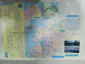福州交通游览图