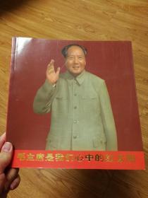 毛主席是我们心中的红太阳文革画册老照片老油画,