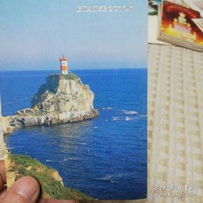 俄罗斯海滨城市明信片,17张全新无封,胶膜好,品质如照片。