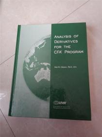 ANALYSIS OF DERIVATIVES FOR THE CFA PROGRAM-