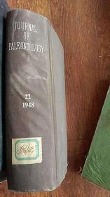 journal of paleontology 古生物学学报  1948年 英文版