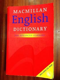 2 进口原版麦克米伦高阶英语词典 英语版 无光盘Macmillan English Dictionary for Advanced Learners [Paperback]