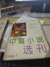 中篇小说选刊 1995、1