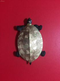 胡开文老墨      金龟      重量4钱