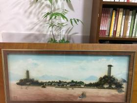 瓯塑 江心屿 120x43cm