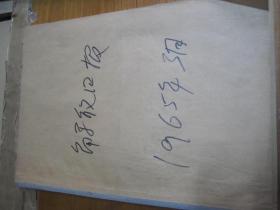 (生日报)解放日报1965年3月(1----31日)