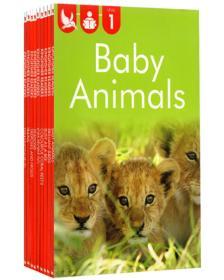 英文原版尾单书  Kingfisher readers L1 儿童分级读物 9册合售 自然百科动植物