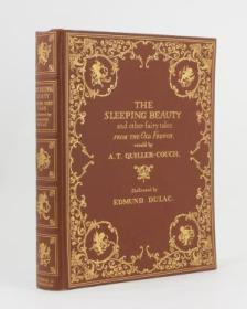 【包顺丰】The Sleeping Beauty and other Fairy Tales from the Old French,《睡美人及其他童话》,1910年伦敦出版,Edmund Dulac 插图,珍贵文学史参考资料!