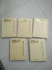 广东文化遗产:《古代祠堂卷、古墓葬卷、近现代重要史迹 、塔幢卷、石刻卷》共5本