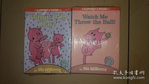 An Elephant & Piggie Book (全八册)  happy pig day 如图 出版时间不详 8册全 塑封未拆