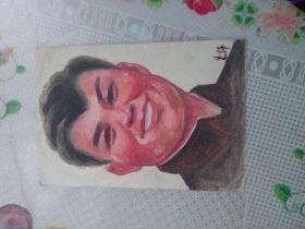 水彩画文献  水彩画家朱辉早期习作  人物作品之三