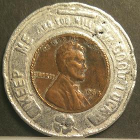 林肯幸运纪念币64979