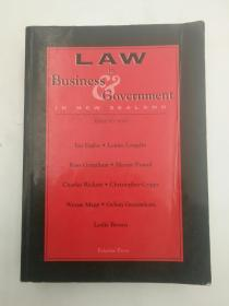 Law in Business Government in New Zealand