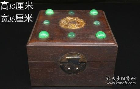 乌木镶玉盒,重量728g代理转图可以加价,运费自理。