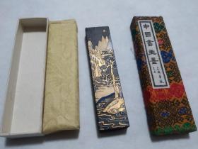 70年代上海墨厂老墨块   一两   极其精美