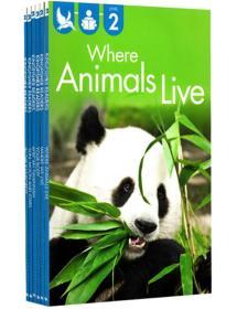 英文原版尾单书  Kingfisher readers L2 儿童分级读物 6册合售 自然百科动植物
