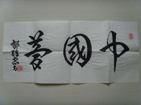 郁维忠:书法:中国梦《国礼艺术》(郁维忠书法集)