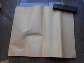 老纸头【元书纸,38张】一面毛糙,一面光滑。尺寸:48×39.5厘米