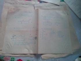教育文献 清华大学教授朱祖成旧藏 1985年材料力学测验(热3、电3班)