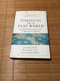COMPETING IN A FLAT WORLD精装本大32开具体看图片
