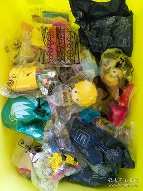 外国麦当劳玩具30个。小黄人,小马宝莉,超级玛丽等等