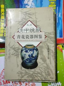 民间清中晚期青花瓷器图鉴赏(有轻微霉迹)品相以图片为准