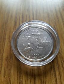 美国州纪念币25分 路易斯安那州 (1812--2002年)