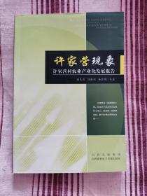 许家营现象-许家营村农村产业化发展报告
