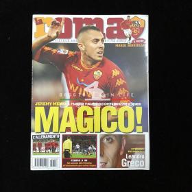 la roma 罗马足球俱乐部 官方杂志 托蒂 totti 梅内 2010年12月