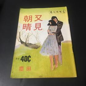 60年代环球小说巜又见朝晴》