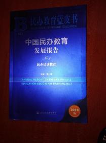 民办教育蓝皮书2018             (16开)《110》