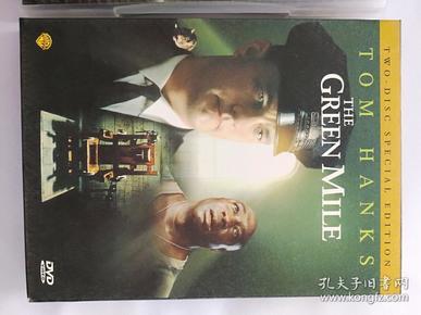 《绿里奇迹》。双碟DVD。