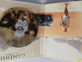 《甘地传》。珍藏版三碟DVD。25周年纪念。