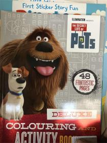 The Secret Life of Pets - Deluxe Colouring and Activity Book 宠物的秘密生活 - 豪华着色和活动书
