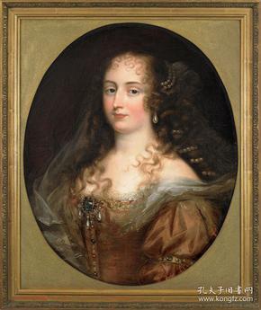 法国17世纪古董人物肖像油画尺寸:83.5×70.5CM材质:布面油画画后有一处小修复,画的底部有作者签名,年代久远,有点模糊。作者:(荷兰)贾斯特斯.冯.艾格蒙特作者出生于荷兰,年幼父母亡故,只身前往比利时安特卫普学画,17世纪初前往意大利,17世纪中期定居法国,成为路易十三的御用画家,并参与成立法国皇家艺术学院,擅长肖像画。