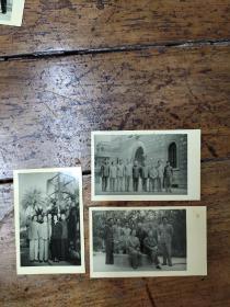 七十年代方非部长在叙利亚使馆——照片三张合售