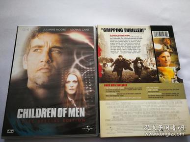 《人类之子》。双碟装DVD完整收藏版。
