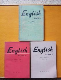 English book1~3册三本合售