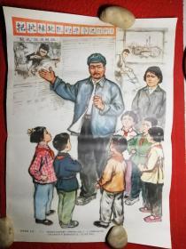 文革时期老年画《狠批林彪孔老二 1 》     4开
