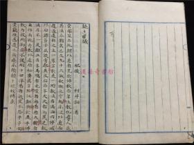 日本古医学稿抄本《读读方议》、《赠答吉益南涯先生书札论医》、《医事谈》等杂记,系作者讲余漫笔之作,安政六年春写。孔网首见