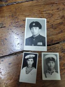早期海军照片三张合售
