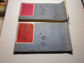 天津市荣记棚铺  1956年账本两册  附文革挨整档案两册(经理被定为资本家,司账先生是日伪特务)账本使用110页;档案83页。
