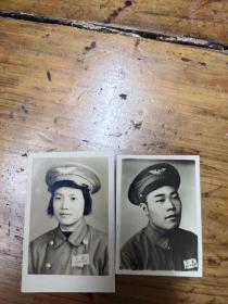 五十年代空军照片 ——两张合售