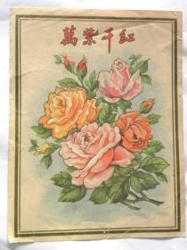50年代《万紫千红》画页
