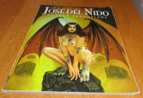 2手英文 The Art of Jose Del Nido: Deadly Seductions