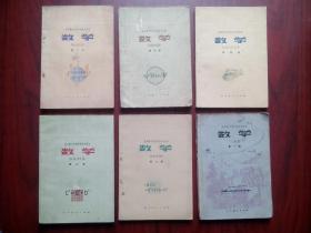 全日制十年制初中数学全套6本,初中数学第一至六册,初中数学1978-1979年第1版,