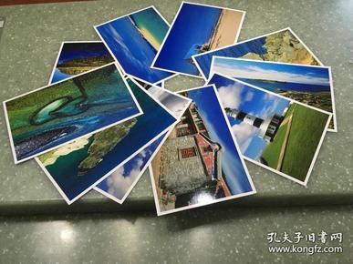 澎湖列岛明信片十张