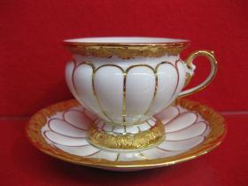 德国梅森咖啡杯套装,老货梅森,卖一套少一套,品相非常好,鎏金完美